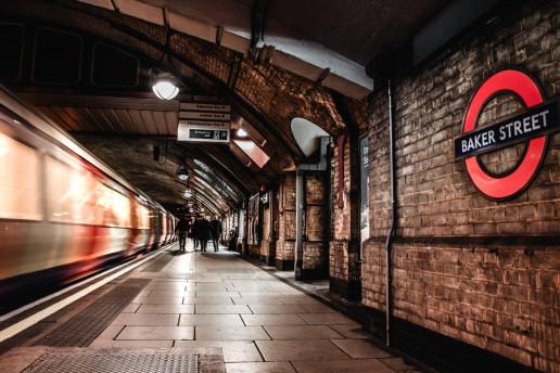 Baker Street Tube Station by Felix Hanspach