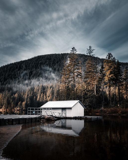 Buntzen Lake - Photo by Sebastian Banasiewcz