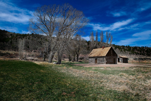 Butch Cassidy's Childhood Home - Photo by Greg Poulsen