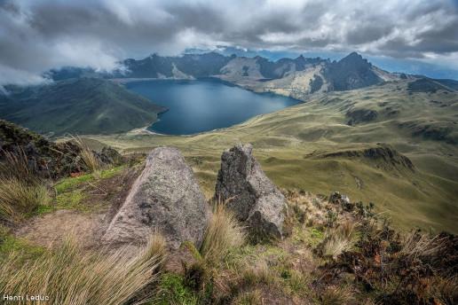 Caricocha Lake (Mojanda Lagoons) by Henri Leduc