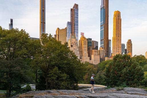 Central Park Cityscape by Vincent Ledvina