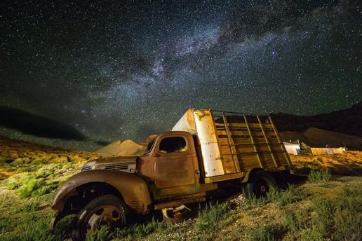 Cerro Gordo Ghost Town by Ian Parker