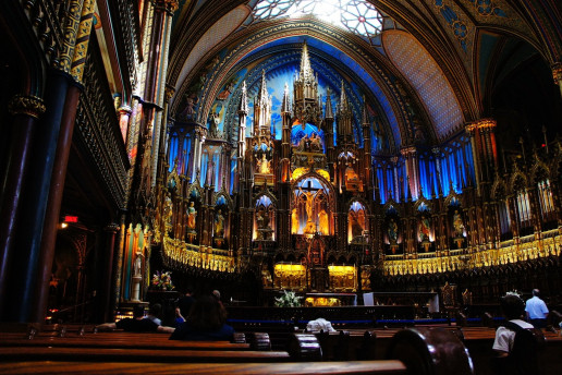 Notre Dame Basilica - Photo by dolcece
