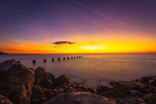 Clearwater Beach by Evi T