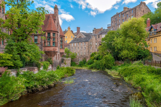 Dean Village by Gary Campbell-Hall