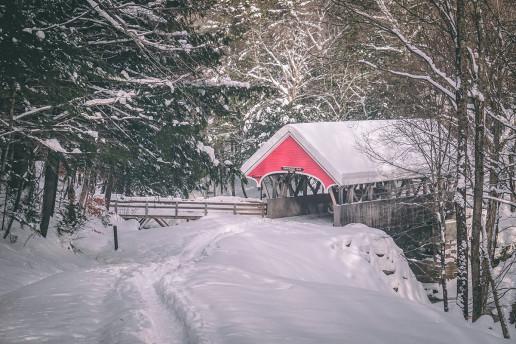 Flume Covered Bridge by Matt LaVasseur