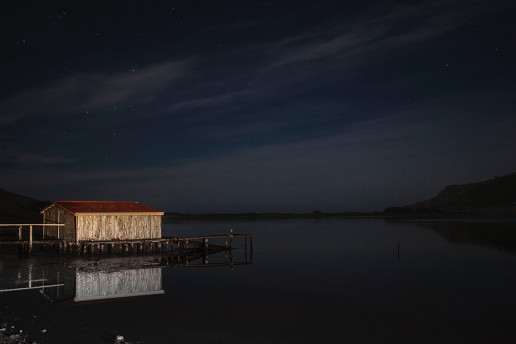 Hooper's Inlet Shed by Kerensa Pickett
