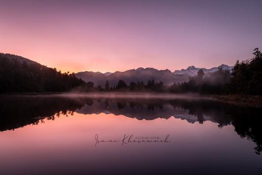 Lake Matheson by Isaac Khasawneh