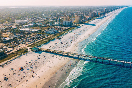 Jacksonville Beach by Lance Asper