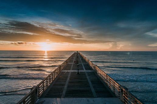 Jacksonville Beach Pier - Photo by Lance Asper