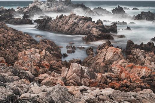 Kleinmond Shoreline by Charl Folscher
