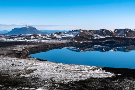 Lake Askja by Ilya Grigorik