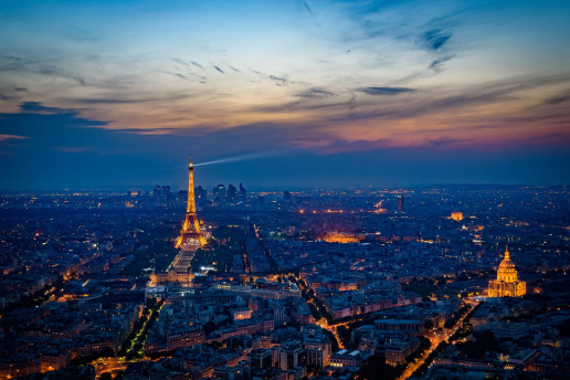 Montparnasse Tower View by Joe deSousa