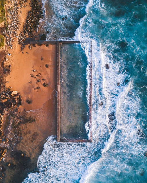 Newport Rockpool - Photo by Lachlan Dempsey