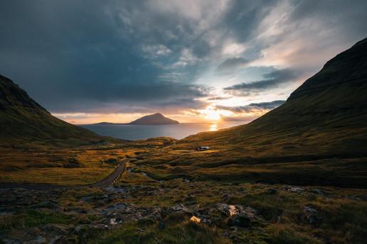 Norðradalsvegur View by Christian Werther