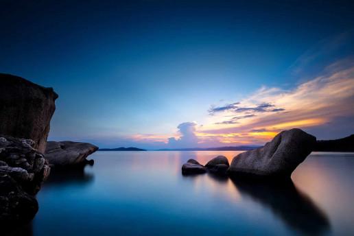 Ouranoupolis Beach by Fabien BELLANGER