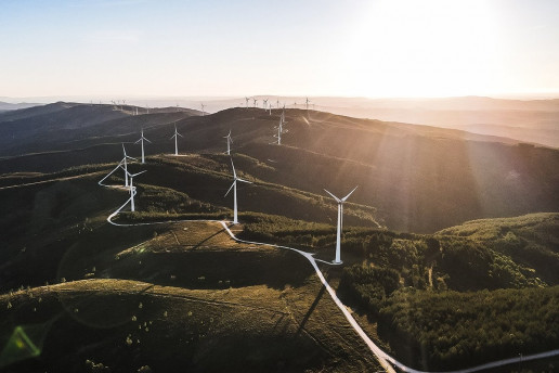 Parque Eólico Wind Farm - Photo by Made From The Sky