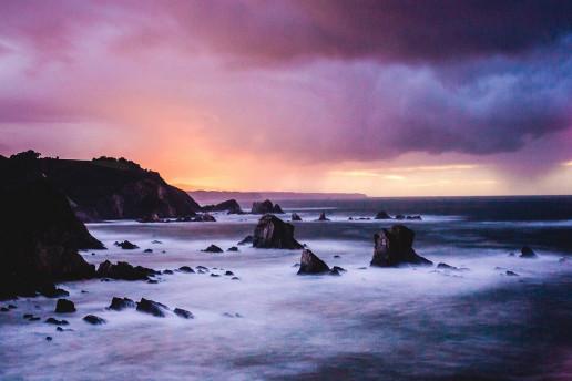 Playa del Silencio by Francisco Moreno