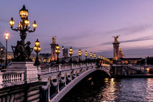 Pont Alexandre III by Léonard Cotte