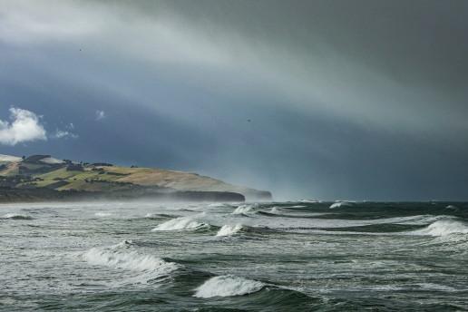 Saint Clair Beach by Kerensa Pickett
