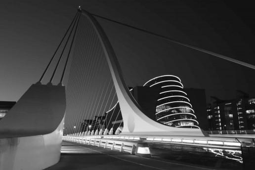 Samuel Beckett Bridge by Daniel Dudek
