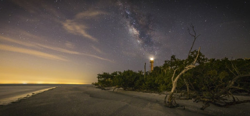 Sanibel Island Lighthouse by Noel Benadom