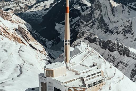 Säntis Summit by Niklas Tidbury
