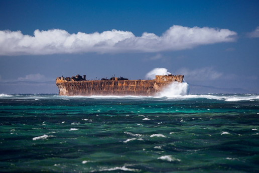 Shipwreck Beach by Anton Repponen