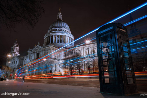 St. Paul's Cathedral by Ashley Garvin