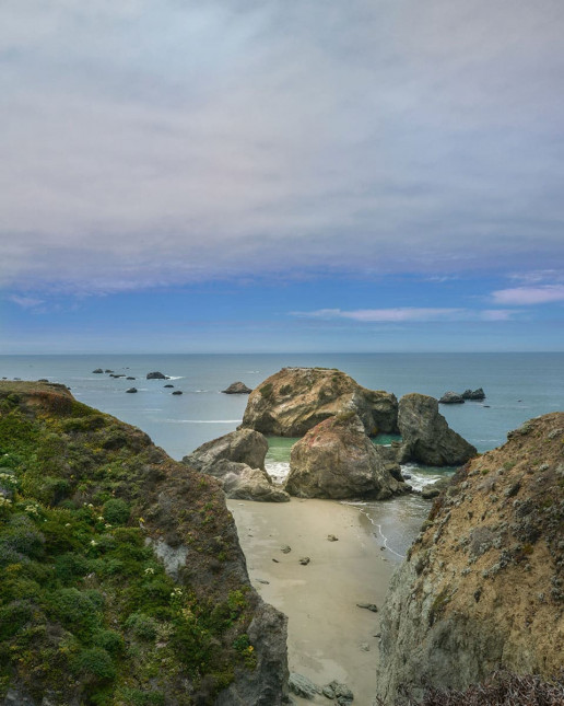 Stengel Beach by Cristina Anne Costello