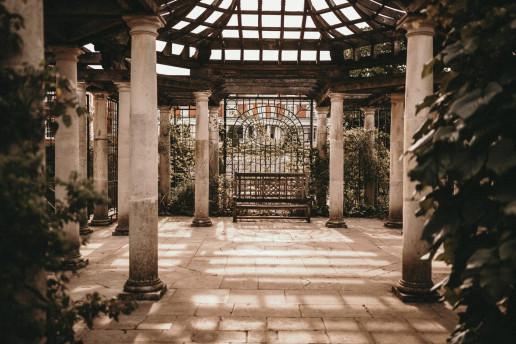 Hill Garden and Pergola by Alekon Pictures