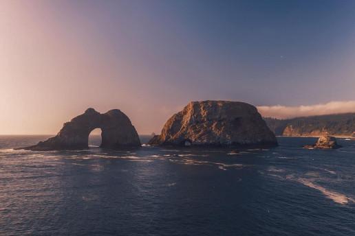 Three Arch Rocks National Wildlife Refuge by Dan Meyers