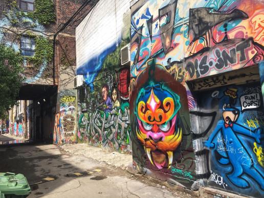 Toronto Graffiti Alley Photo Spot - Photo by Shawn M. Kent