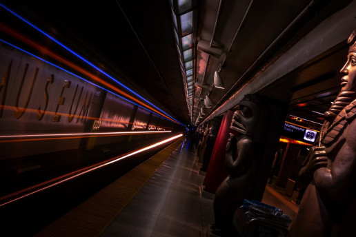 Museum Subway Station - Photo by Shawn M. Kent