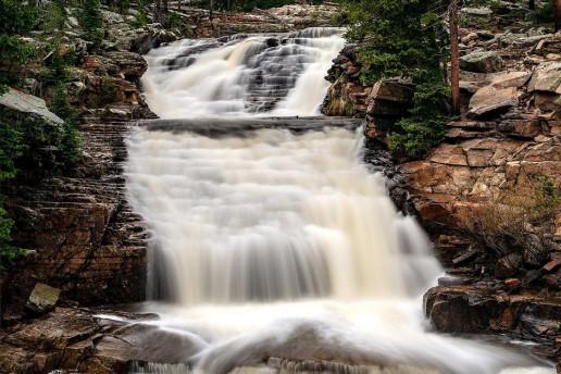 Upper Provo Falls by Greg Poulsen