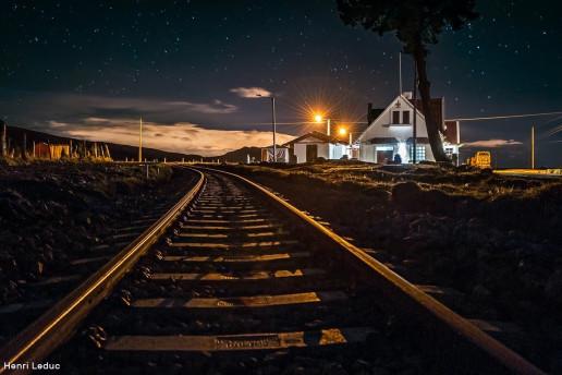 Urbina Railway Station by Henri Leduc