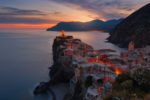 Vernazza Cityscape by Anders Jildén