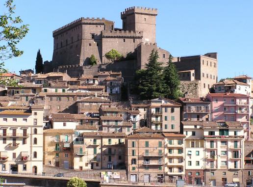 View of Castello Orsini - Photo by C.m.b