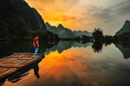 Yulong River by Joshua Earle